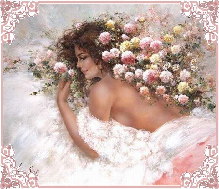 Очаровательные женские образы в творчестве Люсии Сарто (Lucia Sarto)