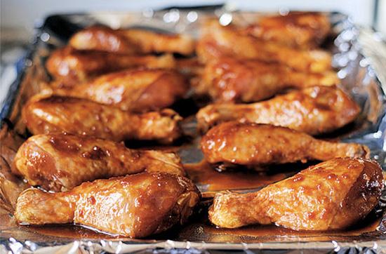 Куриные голени, запеченные в духовке