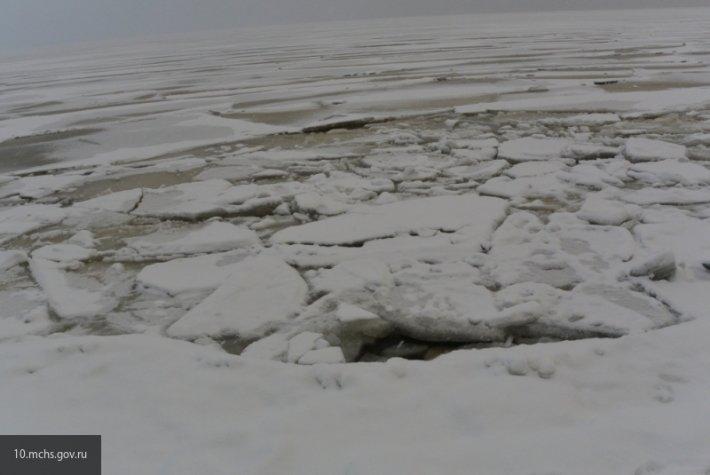 В Пензе найден труп вмерзшего в Суру мужчины
