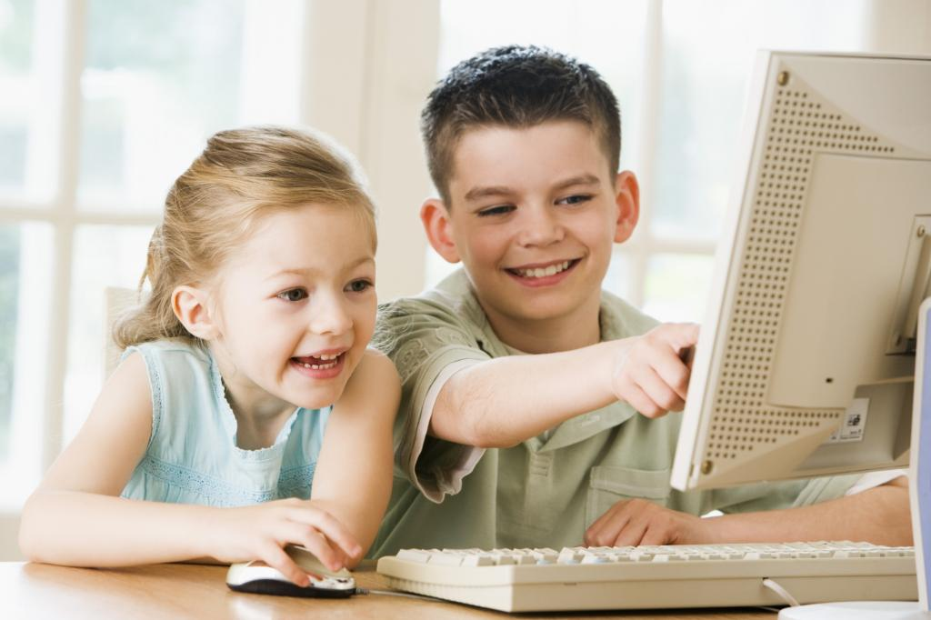 Картинки с компьютером друзьями