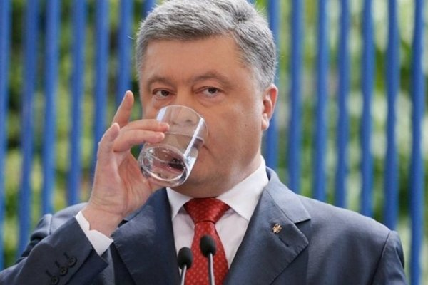 Порошенко не признает Путина президентом?