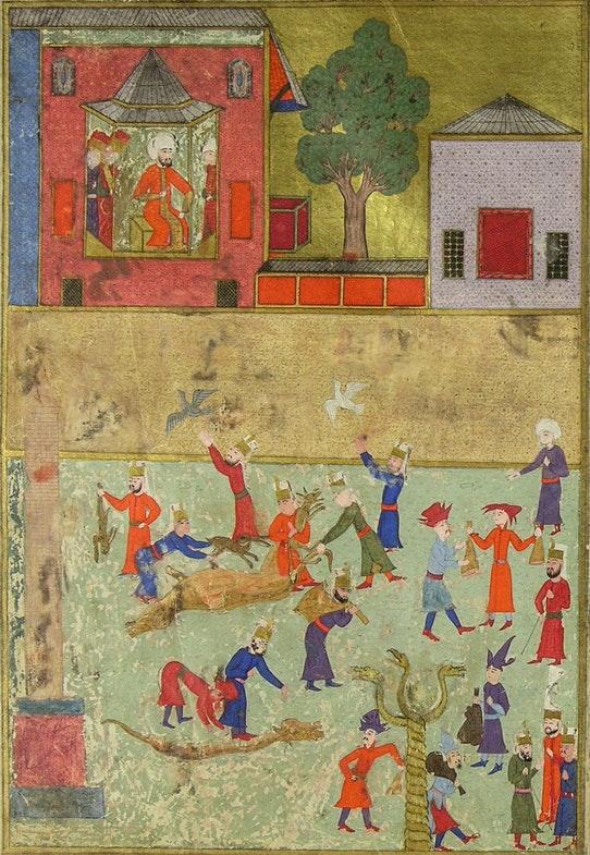 У Османа — сыто-пьяно: что ели султаны и их гарем быт,еда,интересное,история,традиции