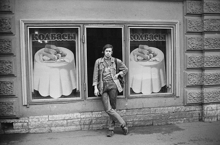 Борис Гребенщиков в Ленинграде, 1986 год история, классика, фото