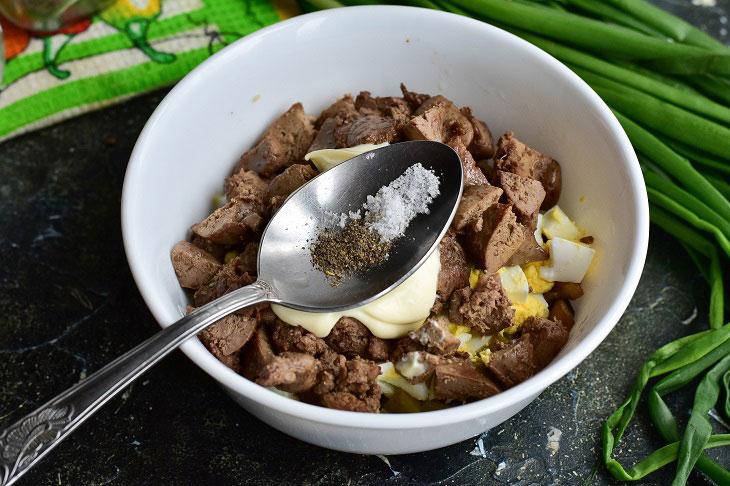 Салат «Подснежник» — красивый и оригинальный салаты