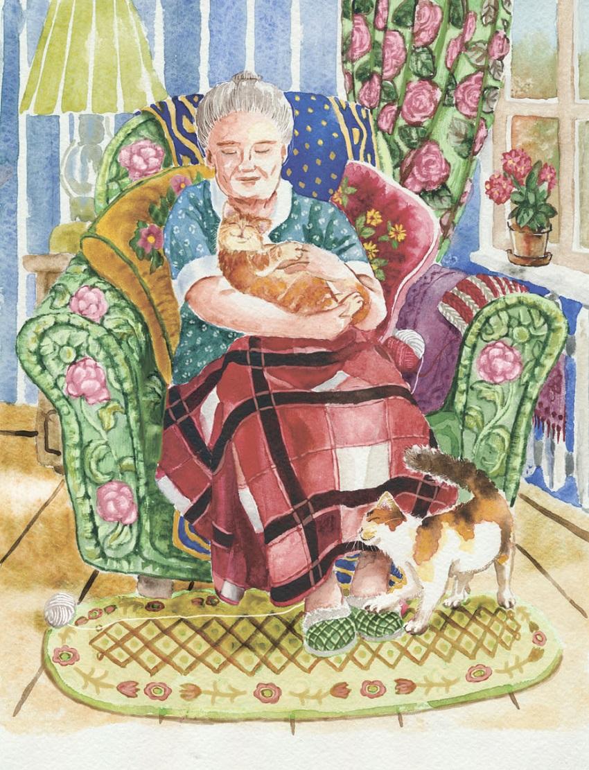 Картинка милые старушки