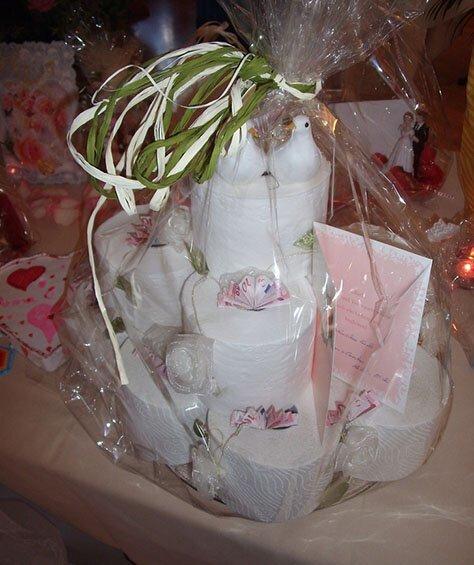 На немецкой свадьбе деньги молодоженам преподносят довольно оригинально, например в виде композиции из рулонов туалетной бумаги страны, факты, это интересно
