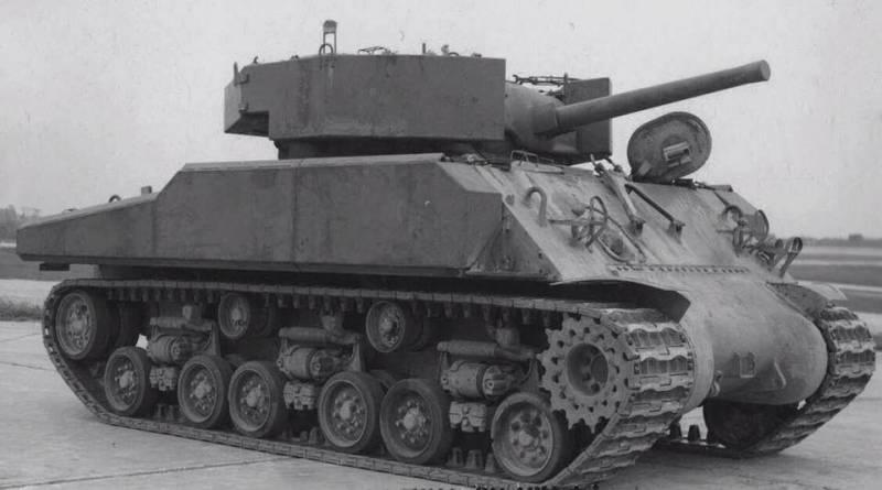 Гравий против снаряда. Экспериментальная навесная броня для танка M4  оружие,танки