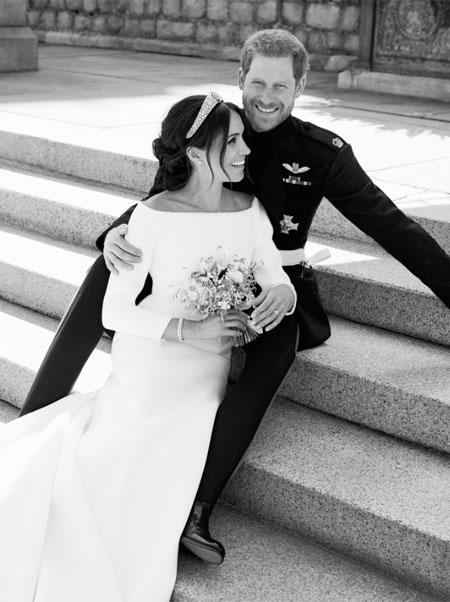 Меган Маркл и принц Гарри подтвердили, что у них не было тайной свадебной церемонии Монархи,Британские монархи
