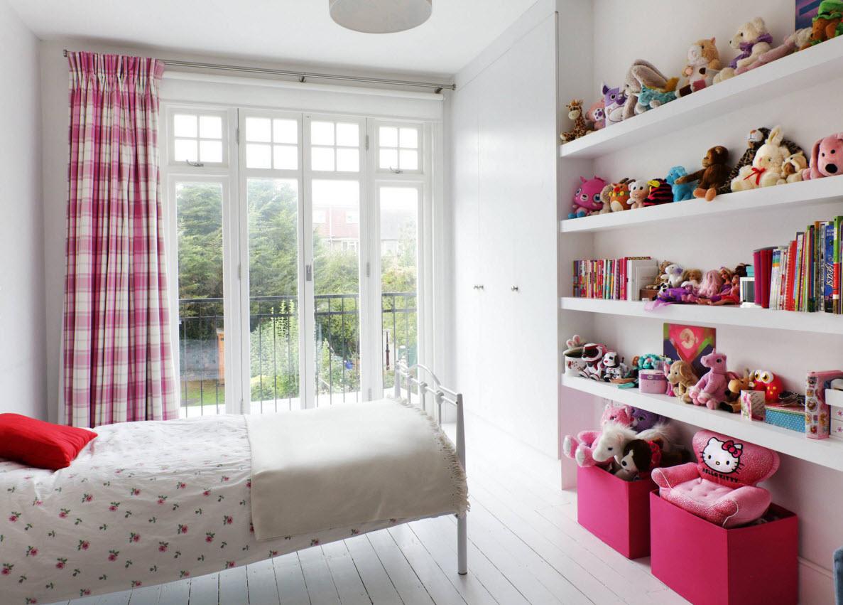Решения для небольших детских комнат роскошь и уют.