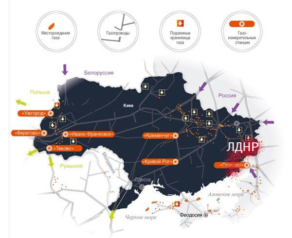 Украинский газовый транзит с…