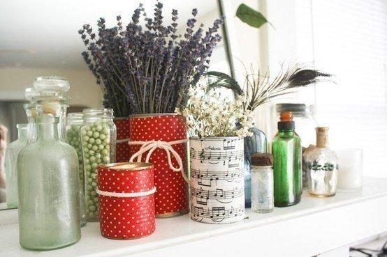 5 идей повторного использования алюминиевых банок на кухне для дома и дачи,новая жизнь старых вещей