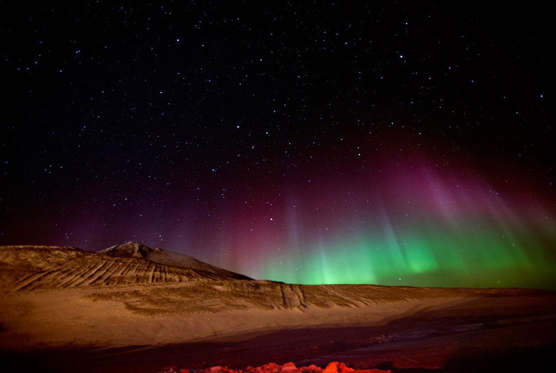 Картинки полярная ночь на северном полюсе