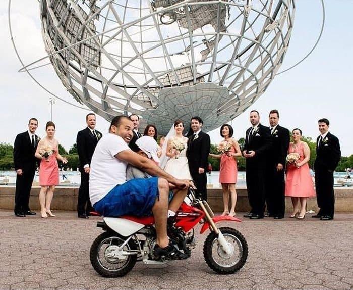 Эпичные свадебные фото