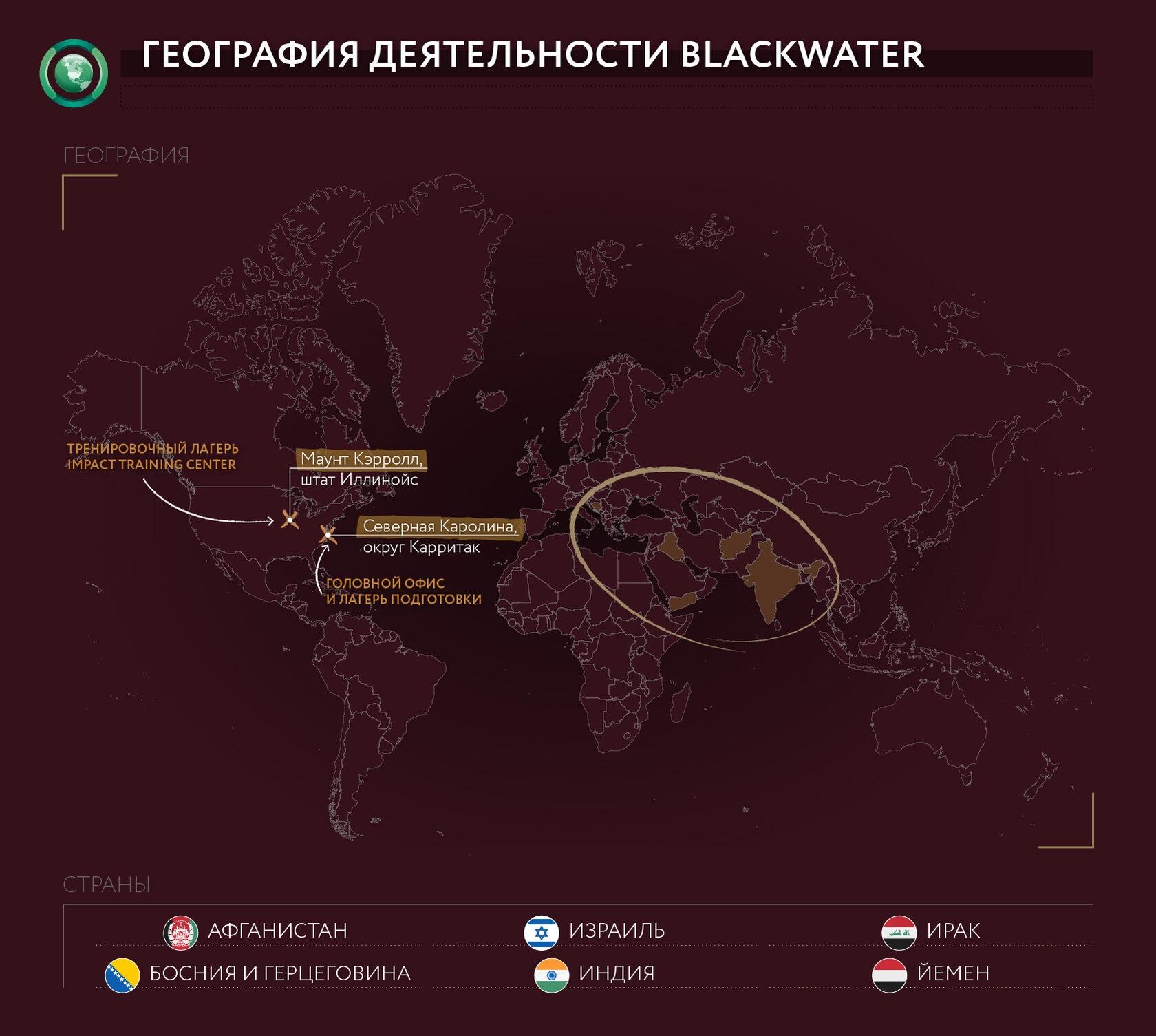 BLACKWATER История печально известной ЧВК спецназ