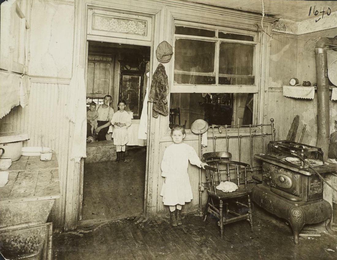 Квартиры старого Гарлема (без ретуши)