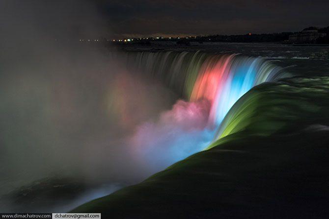 Как выглядит ниагарское чудо изнутри? из первых уст,Ниагара,Ниагарский водопад