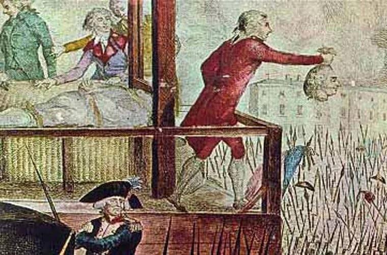french revolution guillotine