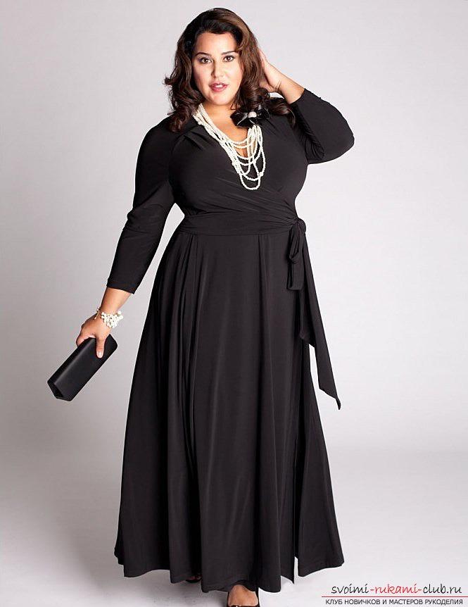 Выкройки одежды больших размеров