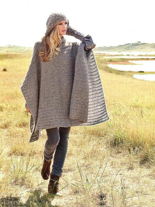 Вязаное пальто сезона 2018: больше 35 модных уютных образов