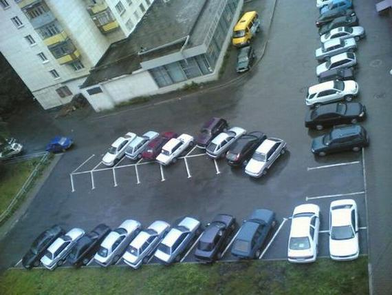 ПДД правила парковки во дворах