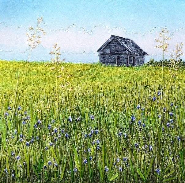 Домик в траве