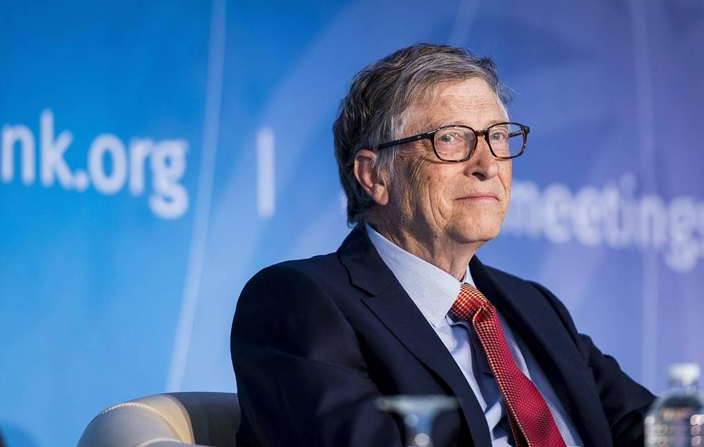 Билл Гейтс EPA-EFE/PETE MAROVICH