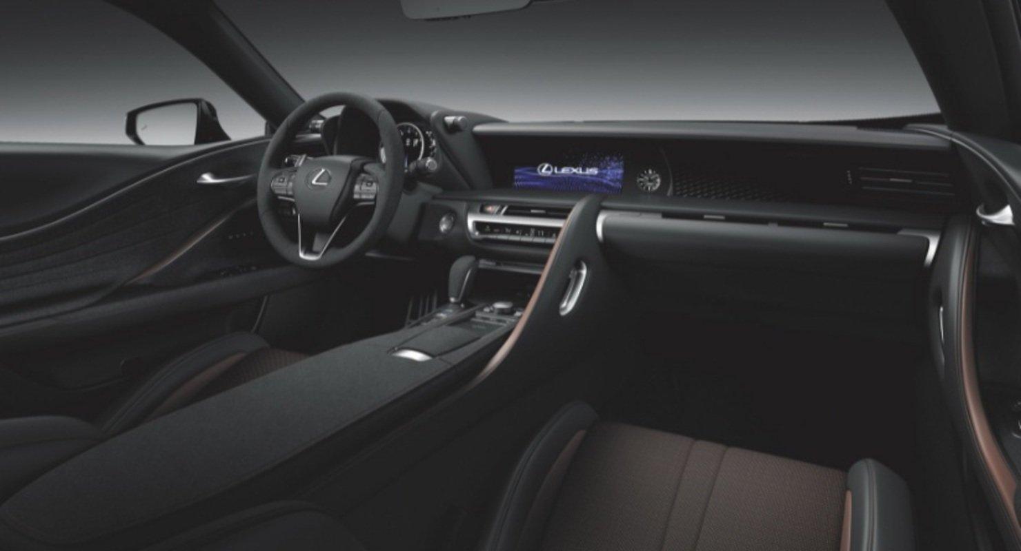 Lexus запустит в Австралии продажи особой серии LC Inspiration по цене 12,5 млн рублей Автомобили