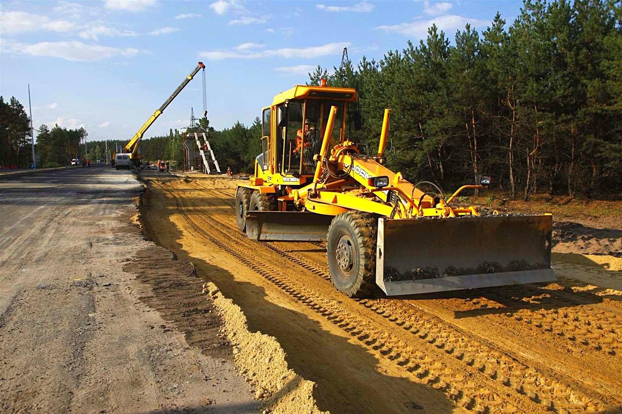 Новую трассу в обход Полтавы построили с использованием передовых технологий