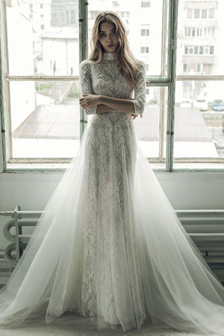 a101a0d3ac3 Коллекция свадебных платьев Ersa Atelier осень-зима 2017
