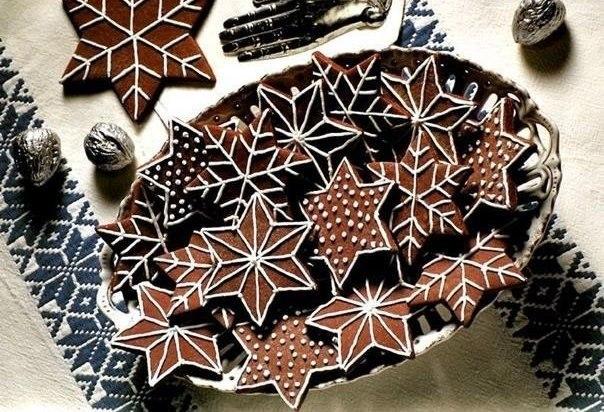 Картинки по запроÑу Ðовогоднее печенье «Шоколадные Ñнежинки» — Ñупер угощение