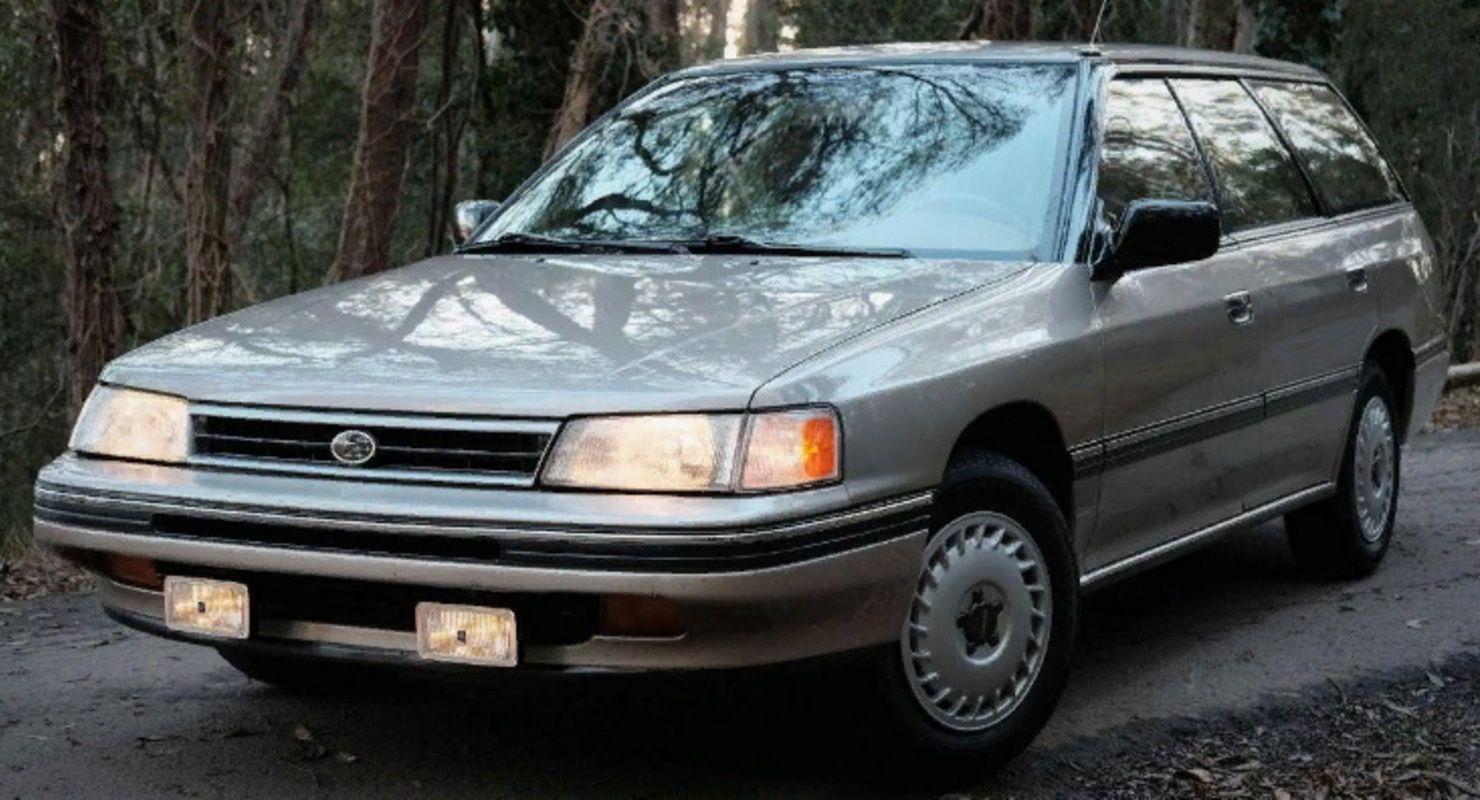 Subaru выкупила у владельца 30-летнюю модель Legacy в хорошем состоянии Автомобили