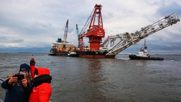 """Две загадки """"Северного потока – 2"""": """"Газпром"""" пойдёт """"пьяно"""" геополитика,россия"""