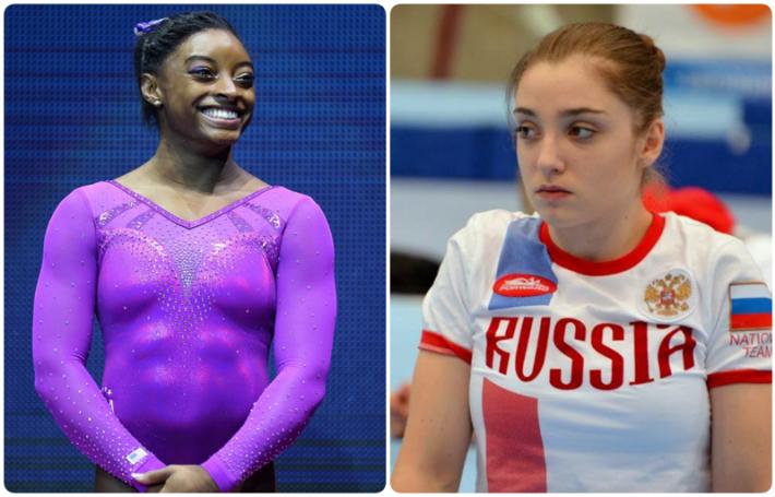 Просто сравним внешне спортсменов из Росси и США))