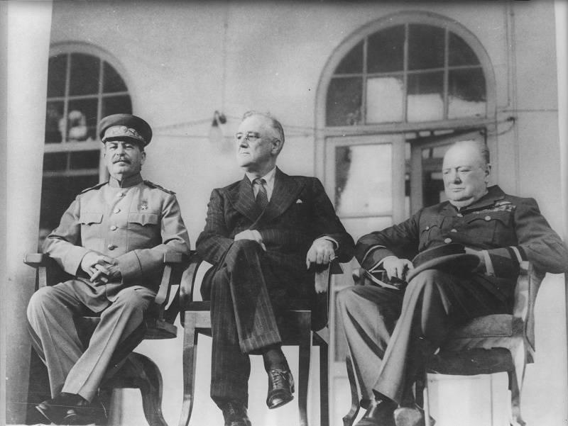 Стратегическая победа Сталина в Тегеране