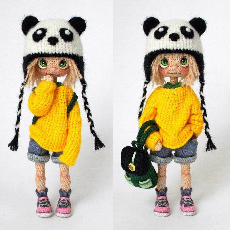 Чудесные вязаные куклы