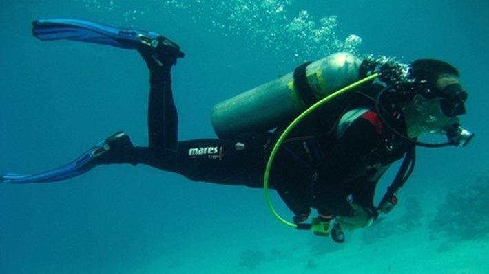 Дайвер из Перу «раздулся» после неудачной рыбалки