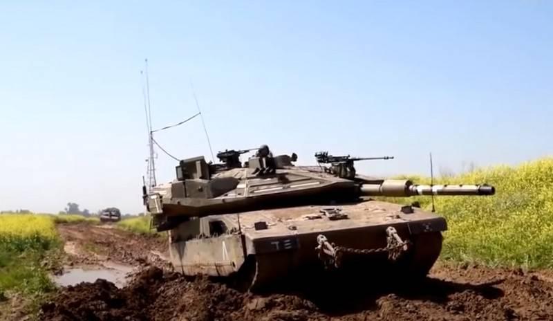 «Меркава»: как модернизировались израильские танки оружие,танки