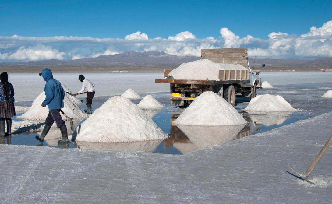 7 самых «просоленных» мест планеты