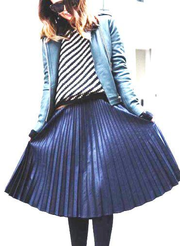 Тренды сезона — юбка плиссе
