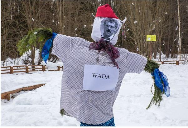 Чучело информатора WADA Родченкова сожгли на Масленицу в Перми