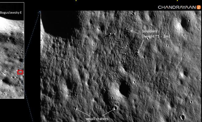 Пропавший лунный зонд связался со спутником и передал детальные фотографии Культура