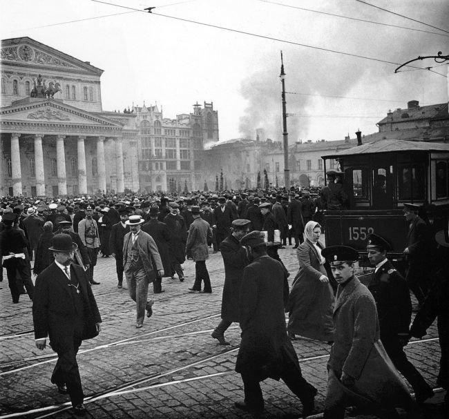 Пожар в Малом театре, 2 мая 1914 года, Москва история, классика, фото