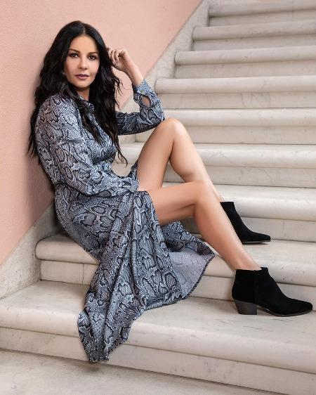 Кэтрин Зета-Джонс стала лицом первой коллекции собственного бренда одежды Мода,Новости моды
