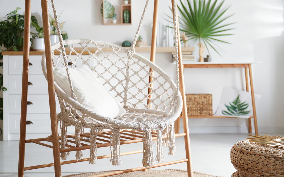 Макраме в интерьере квартиры: 8 оригинальных идей