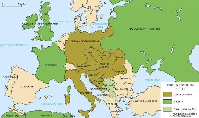 Ловушка для России. 105 лет назад началась Первая мировая война