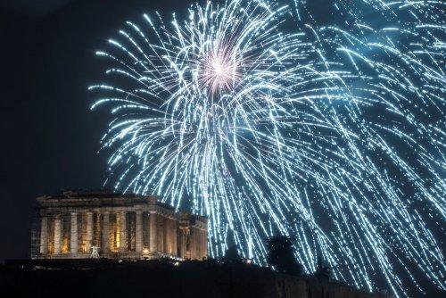 Как встретили Новый год в разных уголках планеты