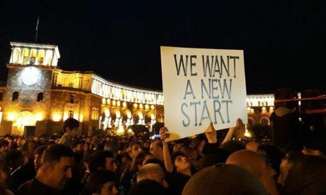 Армения – первые капли крови на бархате революции