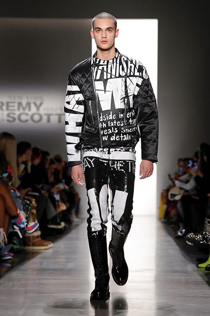 Неделя моды в Нью-Йорке: Кортни Лав и Стелла Максвелл на показе Jeremy Scott сезона осень/зима-2019/2020 новости моды