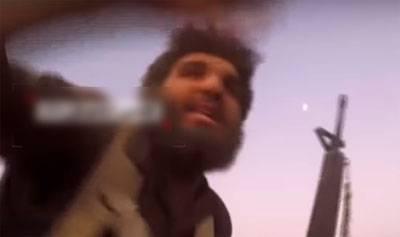 GoPro игиловца запечатлела прямое попадание снаряда с позиций САА