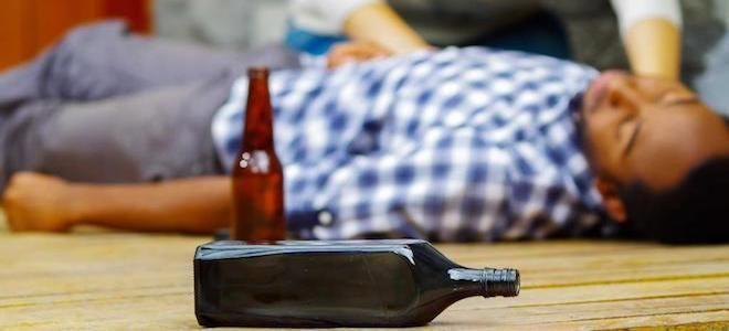 алкогольная интоксикация народные средства